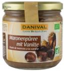 crema bio de castane cu vanilie 380 g Danival