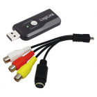 Stick USB pt captura audio video buton snapshot Logilink VG0005B