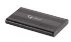 RACK EXTERN 2 5 USB2 0 SATA aluminiu plastic Black Gembird EE2 U2S 5