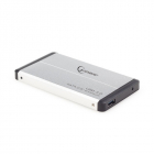 RACK EXTERN 2 5 HDD S ATA TO USB 3 0 silver GEMBIRD EE2 U3S 2 S