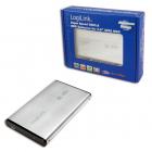 HDD Enclosure 2 5 SATA Logilink USB 3 0 aluminiu UA0106A