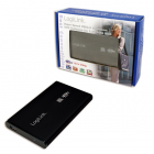 HDD Enclosure 2 5 SATA Logilink USB 3 0 aluminiu Black UA0106