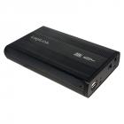 RACK EXTERN 3 5 USB2 0 SATA Alu black LOGILINK UA0082