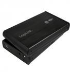 RACK EXTERN 3 5 USB3 0 SATA Alu black LOGILINK UA0107