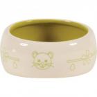 Castron verde din ceramica pentru rozatoare Zolux 200 ml