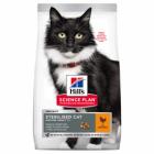 Hrana uscata pentru pisici Hills SP Mature Adult Sterilised cu pui 300