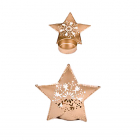 Suport lumanare Star Goldy