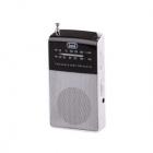 Mini Radio AM FM Alb