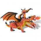 Figurina Dragon Orange Cu 3 Capete
