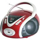 Radio Portabil CD Mp3 Usb Rosu