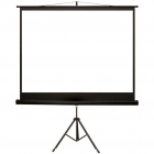 Ecran de proiectie cu suport 145 x 110 cm format 4 3 alb mat