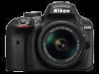 D3400 Kit AF P 18 55mm VR black