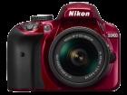 D3400 Kit AF P 18 55mm VR red