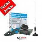 Pachet statie radio auto PNI Escort HP 8001L ASQ Antena CB PNI S75 lun