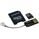 Card Kingston Micro SDXC 64GB Clasa 10 USB 2 0 SD Adaptor