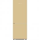 Combina frigorifica FSK185 301 Litri Autodezghetare A Cream Glass