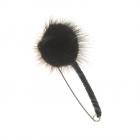 Brosa cu puf negru