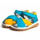 Sandale Alessandra, Freycoo, Galben|Albastru, 24 (149 mm)