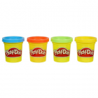 Set Plastilina Hasbro Play Doh 4 Cutii