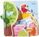 Carte pentru bebelusi Prietenii de la Ferma