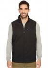 IZOD Reversible Water Resistant Nylon Fleece Vest with Zipper Pockets