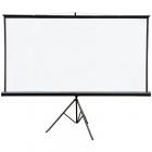 Ecran de proiectie cu suport 221 x 124 cm format 16 9 alb mat