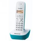 Telefon DECT cu CallerID alb albastru