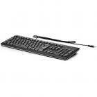 Tastatura QY776AA cu fir USB Neagra
