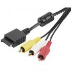 cablu RGB RCA 34115 pentru PS2