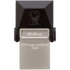 Memorie USB Memorie USB 3 0 Kingston DataTraveler MicroDuo3 64GB
