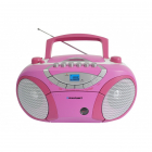 microsistem audio Boombox BB15PK radio AM FM caseta CD MP3 USB AUX