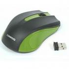 Mouse OM419 optic wireless 1000 dpi negru verde