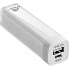Baterie externa Power Bank Tracer 2600 mAh White Li Ion TRABAT44377