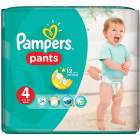 Scutece Active Baby Pants 4 Carry Pack 24 buc