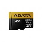 Card microSDXC Premier One V90 64GB Class 10 UHS II U3 275MB s