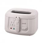 Friteuza Electrica cu termostat Hausberg 1800 W 3 Litri capac transpar