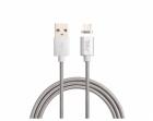 Cablu date Tellur USB Male la microUSB Male Magnetic 1 m 2 1A Silver