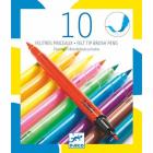 Carioci pensula culori pop