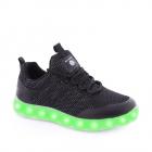 Pantofi Sport baieti Energy Lights Street Black