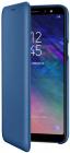 Samsung Husa de protectie tip Book Wallet Cover Blue pentru Galaxy A6