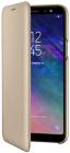 Samsung Husa de protectie tip Book Wallet Cover Gold pentru Galaxy A6