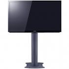 Stand pentru 2 televizoare 165 cu baza fixa 46 63 inch Negru