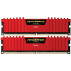 Memorie Vengeance LPX Red 8GB DDR4 2400 MHz CL16 Dual Channel Kit