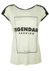 Tricou Reserved Bess Grey