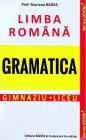 Limba roman Gramatic Gimnaziu Liceu