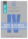 Teme supliment Gazeta Matematic Clasa a IV a