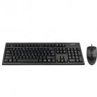 Tastatura Kit Tastatura Mouse Usb Negru