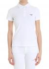 Emporio Armani White Polo With Logo