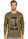 Marc Jacobs Slim Fit Solid Jersey Long Sleeve Tee