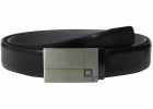 Florsheim 35mm Embossed Lizard Grain Leather Belt
